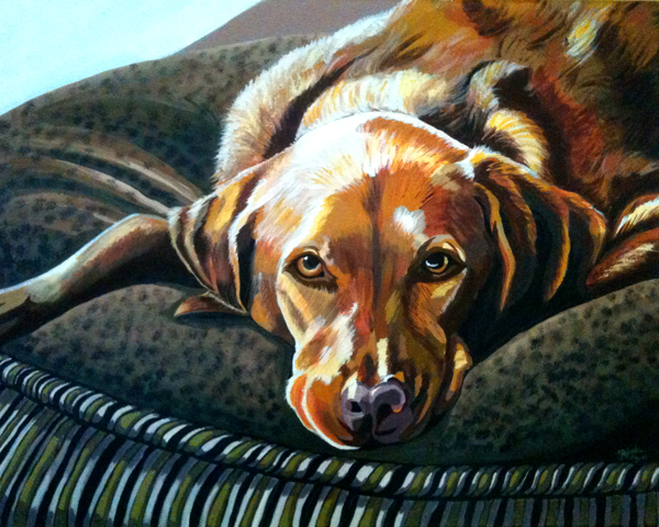The Fine Art Of Painting Dog Portraits